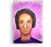 Beautiful Singer - Soft Pastels Canvas Print