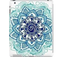 BLUE MANDALA  iPad Case/Skin