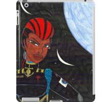 Starship Captain Veronica Daring iPad Case/Skin