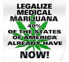 Legalize Medical Marijuana NOW! Poster