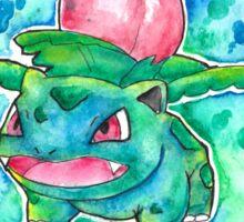 Cool IVYSAUR Watercolor Tshirts + More! ' Pokemon ' Jonny2may Sticker