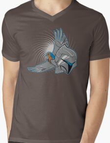 Hawks of Silver Mens V-Neck T-Shirt