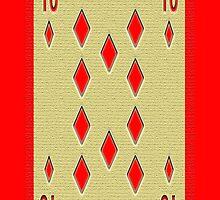 Red 10 by Carolyn Clark