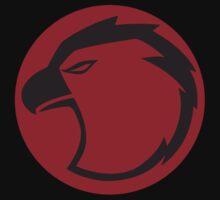 Lightning Hawks Black Logo-Alternate-Flat by CaptZ