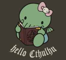 Hello Cthulhu by squidyes