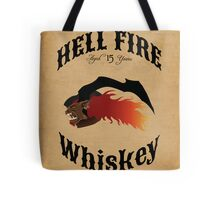 Hell Fire Whiskey Tote Bag