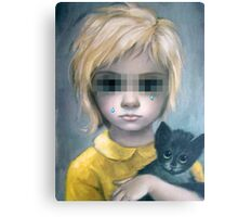 The Stray {SAD ART} Canvas Print