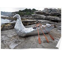Bird/Boat, Sculptures By The Sea, Australia 2012 Poster