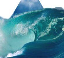 Catch a wave Sticker