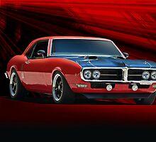 1967 Pontiac Firebird by DaveKoontz