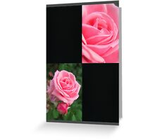 Pink Roses in Anzures 2 Blank Q2F0 Greeting Card