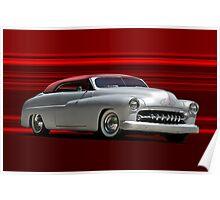 1950 Mercury Custom Convertible Poster