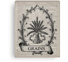 Wheat Psalm 91 Canvas Print