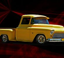 1956 'Please Step Aside' Chevy Pick-Up by DaveKoontz