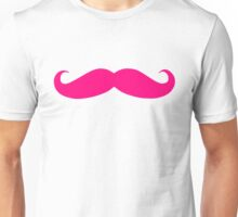 MARKIPLIER PINK MOUSTACHE  Unisex T-Shirt