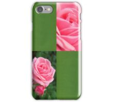 Pink Roses in Anzures 2 Blank Q5F0 iPhone Case/Skin