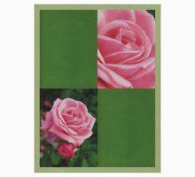 Pink Roses in Anzures 2 Blank Q5F0 Kids Tee