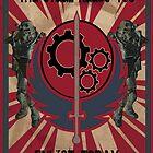 Brotherhood of Steel Propaganda  by cloakrunner