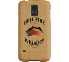 Hell Fire Whiskey Samsung Galaxy Case/Skin