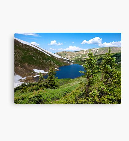 Pumphouse Lake I  Canvas Print