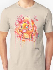 Cool Charmander Watercolor Tshirts + More! ' Pokemon ' Jonny2may T-Shirt