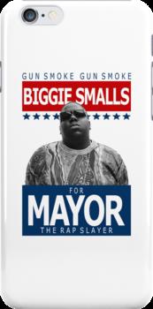 Biggie Smalls for Mayor by connywonny