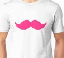 MARKIPLIER PINK MOUSTACHE PIXEL 8 BIT 16 BIT Unisex T-Shirt