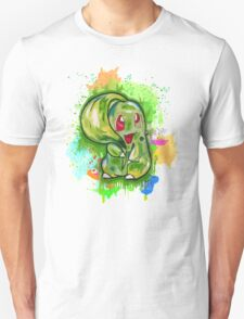 Cute Chikorita Spraypaint Tshirts + More! Jonny2may T-Shirt