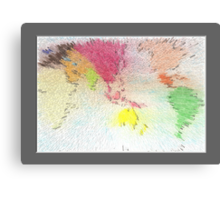 World map as art Canvas Print