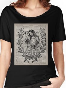 Jesus & the Lamb Psalm 91 Women's Relaxed Fit T-Shirt