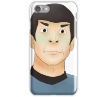 Shocked Spock iPhone Case/Skin