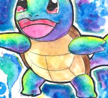 Cool Squirtle Watercolor Tshirts + More! ' Pokemon ' Jonny2may Sticker