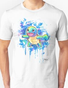 Cool Squirtle Watercolor Tshirts + More! ' Pokemon ' Jonny2may T-Shirt