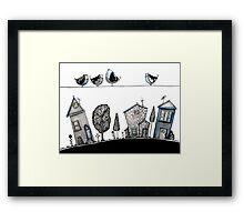 Bird song Framed Print
