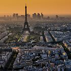 Paris, the evening by THHoang