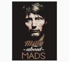 Mad About Mads Sticker by syrensymphony