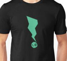 skullclamation mark 2.0: green Unisex T-Shirt