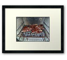 MeatLove Framed Print