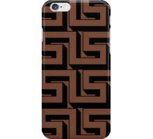 Brown Maze iPhone Case/Skin