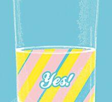 Optimism - YES! Sticker