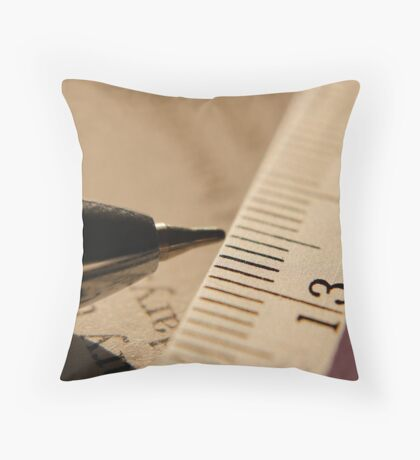 Pen & Scale... Throw Pillow