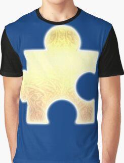 Golden Jigsaw Piece - Banjo Kazooie Graphic T-Shirt