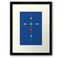 Eat Your Idol Framed Print