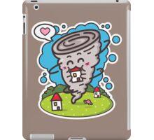 kawaii tornadoes iPad Case/Skin