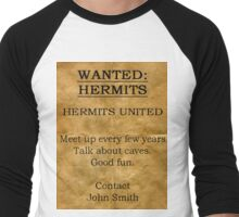 Hermits United Men's Baseball ¾ T-Shirt