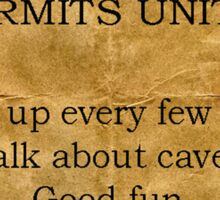 Hermits United Sticker