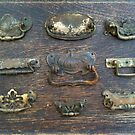 Antique Hardware - Door Pulls - Still Life by 082010