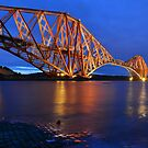 Forth Rail Bridge, Scotland by Jim Wilson