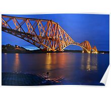 Forth Rail Bridge, Scotland Poster
