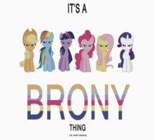 All - It's a brony thing by Hayden Wilson